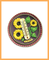 Sunflowers thermometer isp. 2