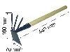 Мотыжа МК-3 с черенком