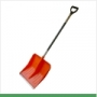 Shovel plastic 428х490 with an aluminum shank and the V-handle