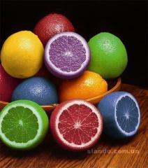 Красители натуральные пищевые