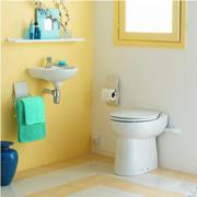 SFA (SANIFLO) Sanicompact C43 - a compact toilet