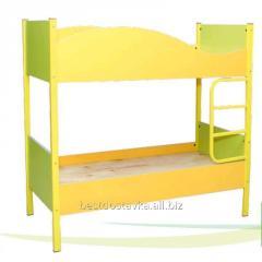 La cama el cuarto para niños 2х de pisos ГЕЛIКА