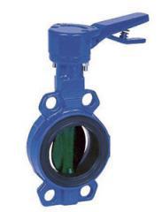 DANFOSS VFY-WH арматура запорная заслонки затворы поворотные дисковые с центрирующими проушинами и ручным управлением, Ду 25-300 мм., давление 10-16 бар