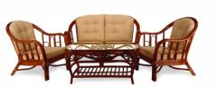 Collections of a rotangovy wicker furniture