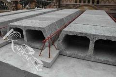 Expanded clay overlappings - concrete
