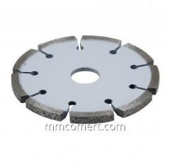 Diamond mill for Easy-cut EC-76 seams