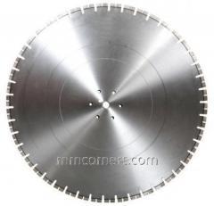 Алмазный диск для швонарезчиков по старому бетону