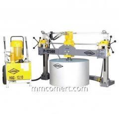 Diamond drilling equipment