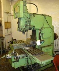 The milling machine in Moldova