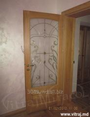 Stained-glass windows for doors