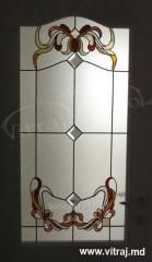Stained-glass window for doors, Regalead