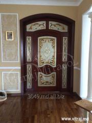 Витражи дверные от компании Vitraj Miracol