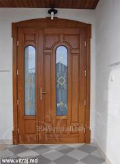 Витражи для дверей от компании Vitraj Miracol