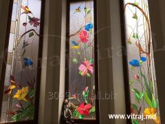 Stained-glass windows for windows