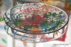 Art glass painting