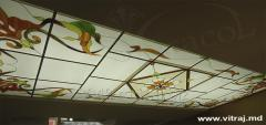 Ceiling stained glass