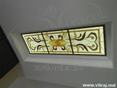 Exclusive stained-glass ceiling