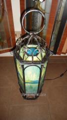 Напольная лампа в стиле модерн