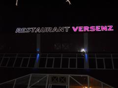 Printed materials of Restaurant Versenz