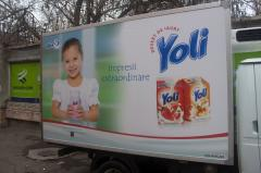 Printed materials of Branding auto Yoli