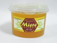 Липовый мёд 1,2 кг.