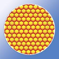 Cover twist-off of 66 mm, honeycombs