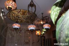 Витражные лампы