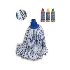 MOP about microfibers and cotton threads, a RED