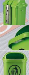 Ballot box plastic 50L, Green Code: 1053902