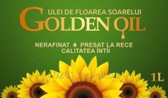 Golden Oil sunflower oil