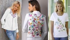 Блузки с вышивкой на заказ/ Camase cu broderii la