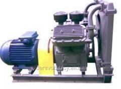 Compressor installation, compressor industrial