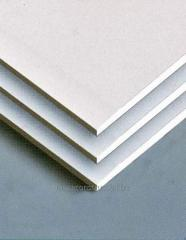 Ø 12.5 gypsum cardboard; 1.2-2.5m; 51 kg/m