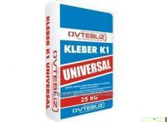 Клей строительный Kleber 25 kg вид 2