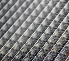 Metal fence mesh