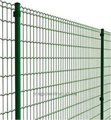 Забор из сварной сетки ПВХ Supra 10 м; 50x100 мм;