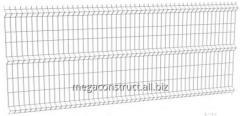 Заборная система сварная панель L=2, 5 м; 4,...