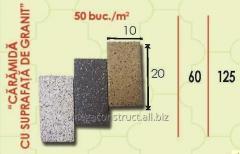 Тротуарная плитка 20m; 60mm; 10 mm, вид 6