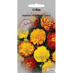 Семена цветов Бархатцы отклонённые смесь 0,4гр.