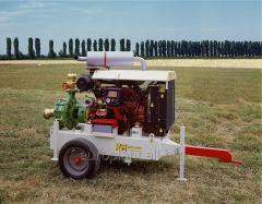 Stations pumping mobile diesel