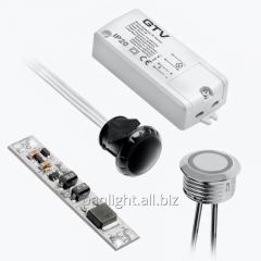 Сенсоры, выключатели, кнопки для светодиодной