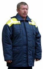 Overalls for protection against low temperatures