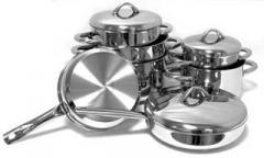 Посуда нержавеющая