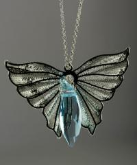 "Подвеска ""Ангел"", кристаллы SWAROVSKI"