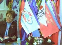 Флаги атласные 2-х сторонние разных стран 1.0 x