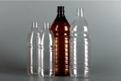 Les bouteilles du plastique