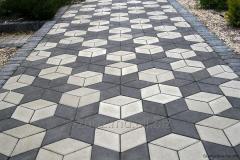 Тротуарная плитка Ромб 4,0 см