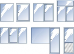 Окна металлопластиковые  на заказ