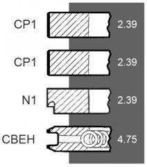 Set Segmenti / 24/34-121