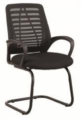 Кресло ВХ-5066С Спинка-сетка, сидушка-ткань